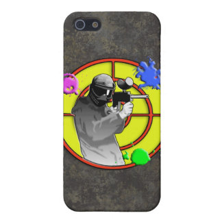 Radioactive Neon Paintball Shooter iPhone 5 Covers