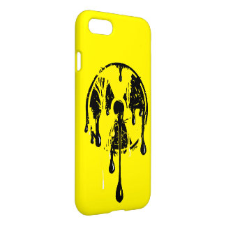 Radioactive Nuclear Meltdown Hazard Symbol iPhone 7 Case