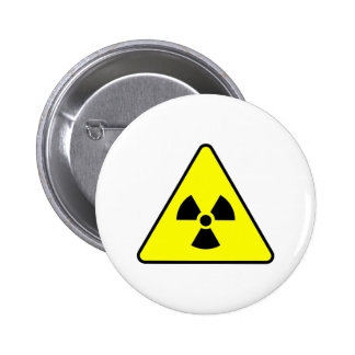 Radioactive Products & Designs! 6 Cm Round Badge