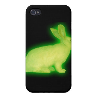 radioactive rabbit iPhone 4 cases
