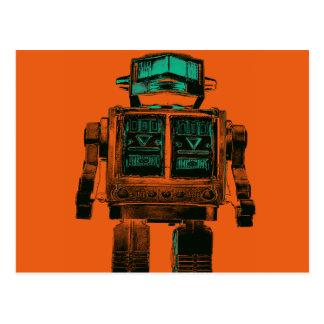 Radioactive Robot Rebellion Postcards