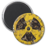 Radioactive Rusted 6 Cm Round Magnet