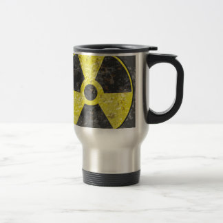Radioactive Sign 2 Stainless Steel Travel Mug
