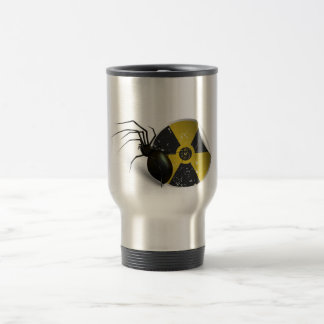 Radioactive spider travel mug