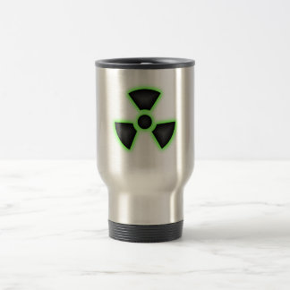 Radioactive Stainless Steel 15 oz Travel Mug