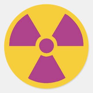 Radioactive Sticker