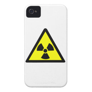 Radioactive Symbol Case-Mate iPhone 4 Cases