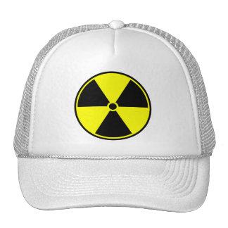 Radioactive Symbol Mesh Hat