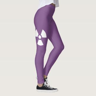 Radioactive Symbol Leggings
