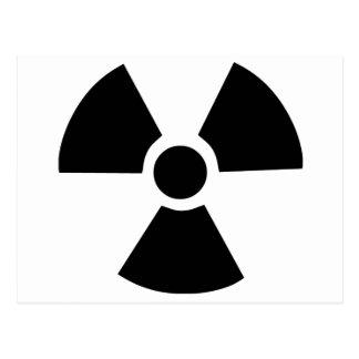 Radioactive Symbol Post Cards