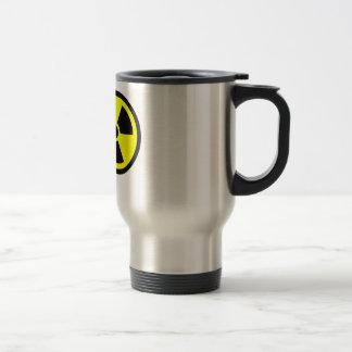Radioactive Symbol Stainless Steel Travel Mug