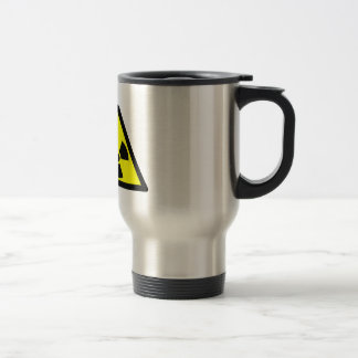 Radioactive Symbol Travel Mug