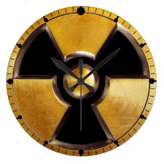 Radioactive Symbol Wall Clock
