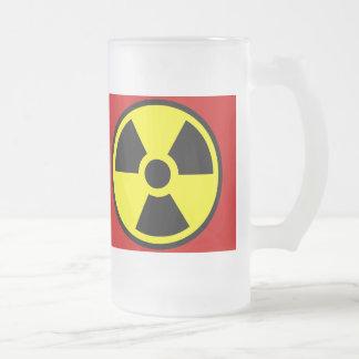 Radioactive Two Frosted Glass Mug