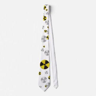 Radioactive Warning Sign - Tie
