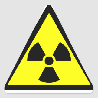 RadioActive Warning Sticker