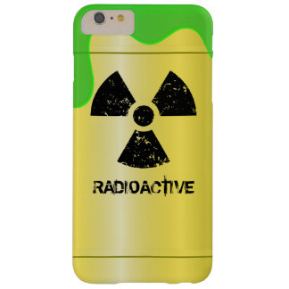 Radioactive Waste Drum Barely There iPhone 6 Plus Case