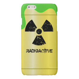 Radioactive Waste Drum Glossy iPhone 6 Case