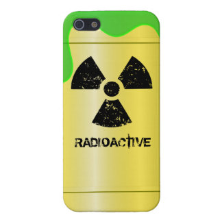 Radioactive Waste Drum Case For iPhone 5