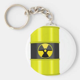 radioactive waste key chain
