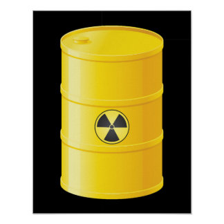 Radioactive Waste Poster