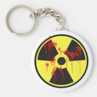 Radioactive Zombie Outbreak Keychains