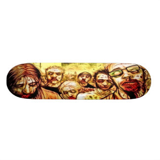 Radioactive Zombies Skateboard