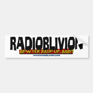 RadiOblivion - Blow Up Bumper Sticker