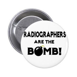 Radiographers Are The Bomb Pinback Button