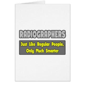 Radiographers .. Smarter Card