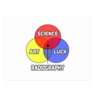 Radiography .. Science Art Luck Postcard