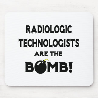 Radiologic Technologists Are The Bomb Mouse Pads