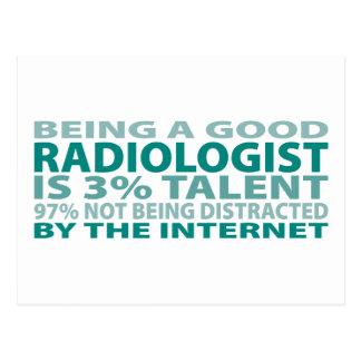 Radiologist 3% Talent Postcards