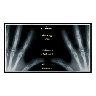 Radiologist - Business Card Business Card Templates