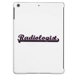 Radiologist Classic Job Design iPad Air Cases