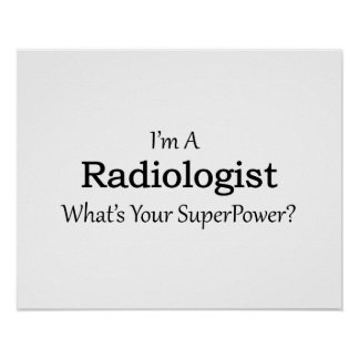 Radiologist Poster