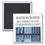 RADIOLOGisT  radiology Square Magnet