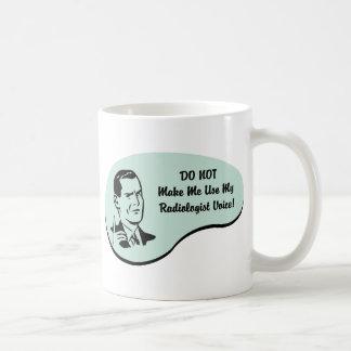 Radiologist Voice Coffee Mug