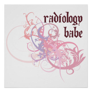 Radiology Babe Poster