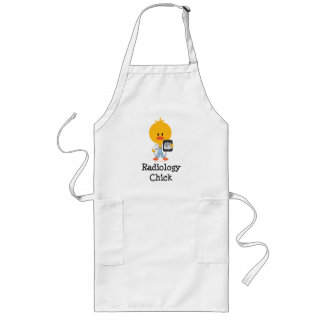 Radiology Chick Apron  Long Apron