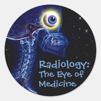 Radiology Eye of Medicine sticker