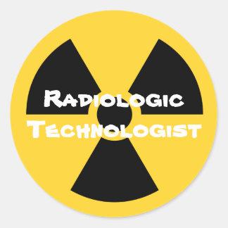 Radiology Round Sticker
