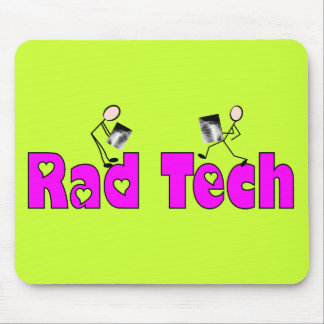 """Radiology Technician """"Rad Tech"""" Gifts Mouse Pad"""