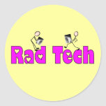 "Radiology Technician ""Rad Tech"" Gifts Classic Round Sticker"