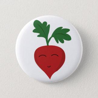 Radish 6 Cm Round Badge