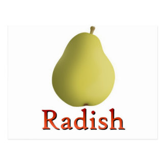 Radish Postcard