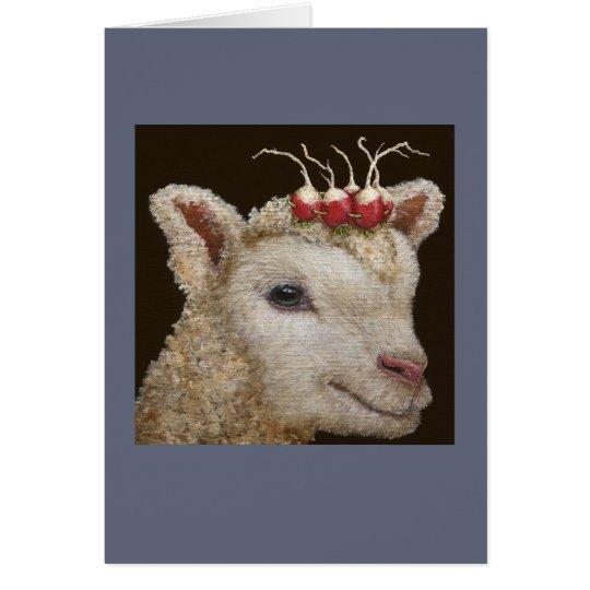 Radish Princess card