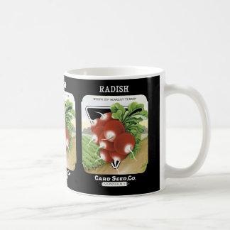 Radish Seed Packet Label Coffee Mug