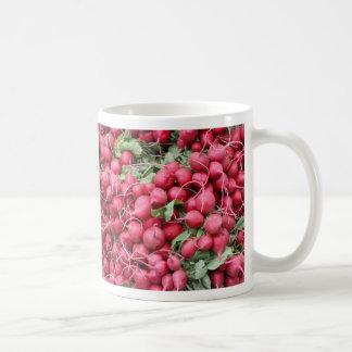 Radishes Classic White Mug