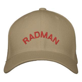 RADMAN EMBROIDERED BASEBALL CAPS